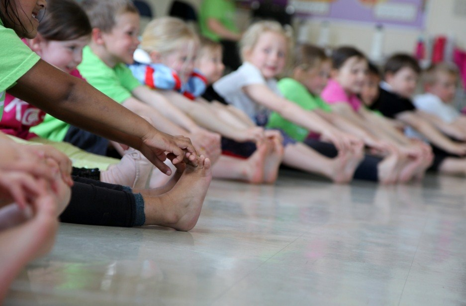 children's dance classes - children's toes