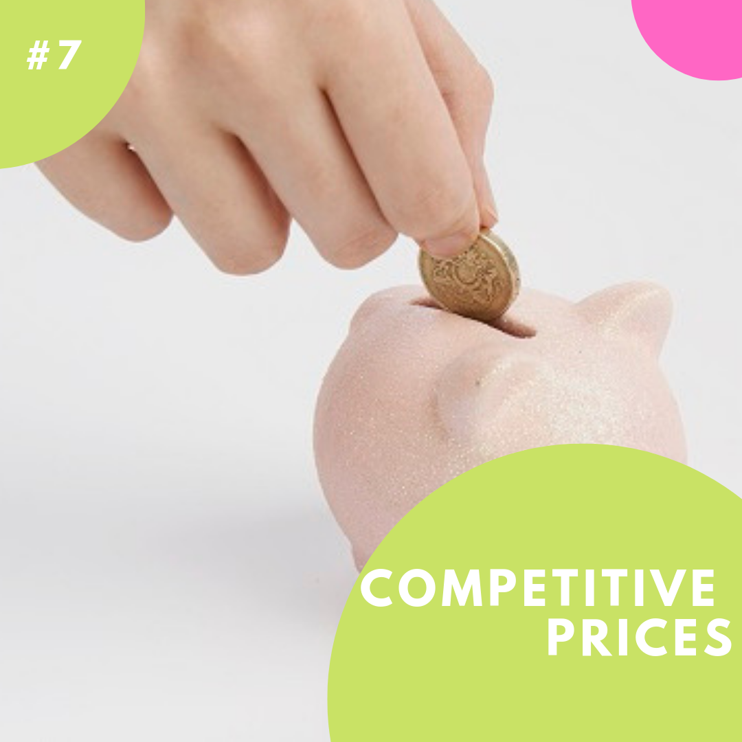 Competitive franchise prices