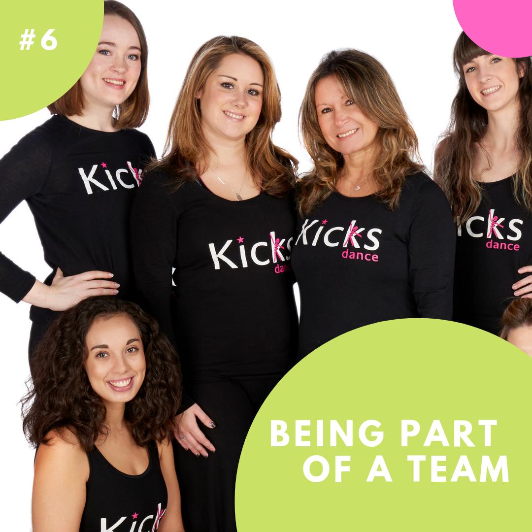 Kicks Dance franchise team
